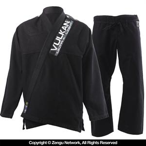 Vulkan Ultra Light Black BJJ Gi